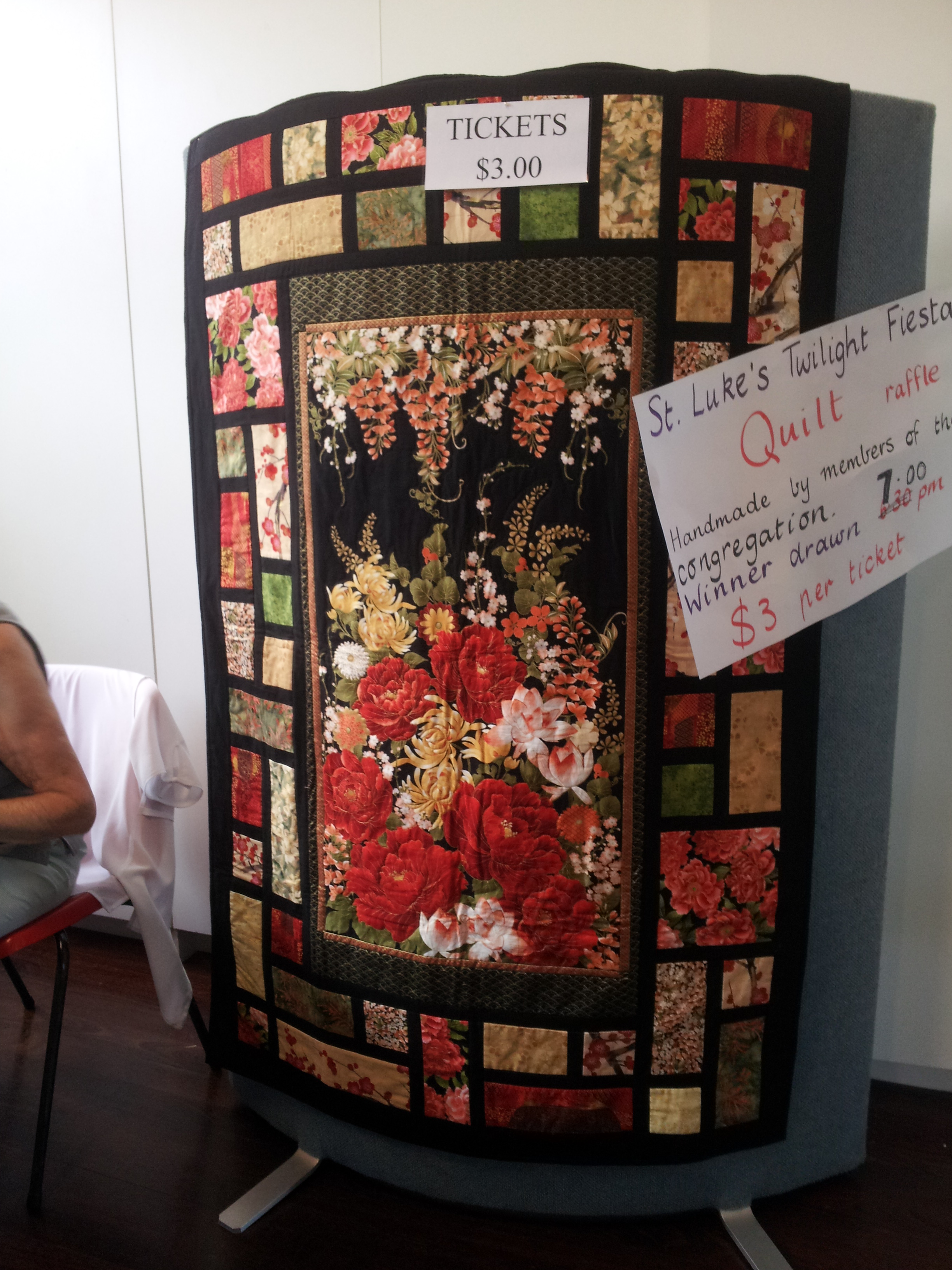 this quilt attracted lots of attention