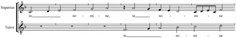 Josquin Sanctus-in nomine