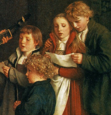 Gustav Spangenberg, Luther making music in the circle of his family, c.1875 (detail)